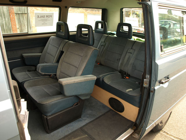 volkswagen caravelle inside
